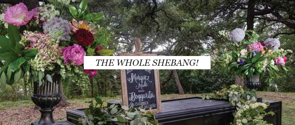 Full Service Wedding Planning - The Whole Sheabang