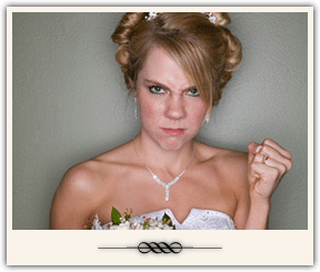 Frustrated Bride