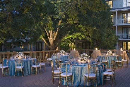 Hyatt Lost Pines Pecan Court and Pecan Terrace Reception and Ceremony Site