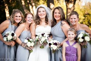 Bridesmaids at Hyatt Lost Pines