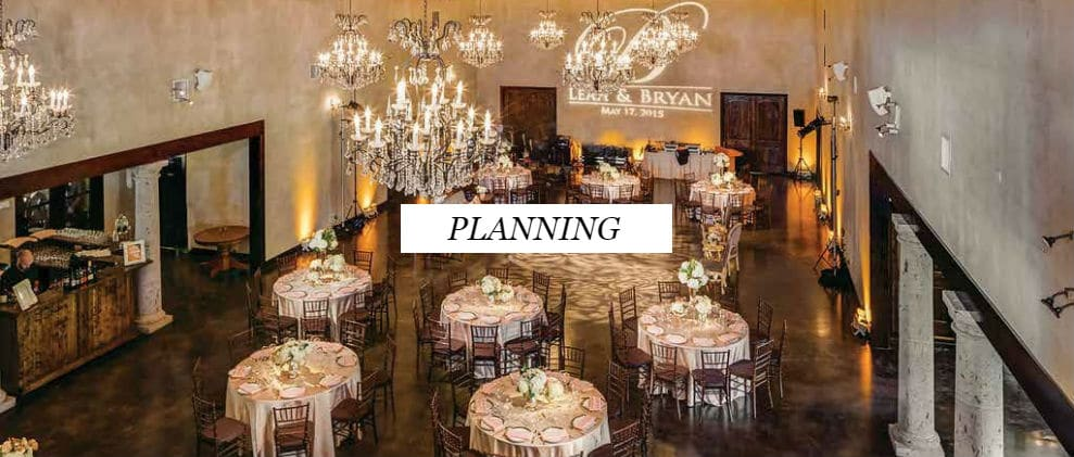 Austin Wedding Planning Services - Yellow Umbrella Events