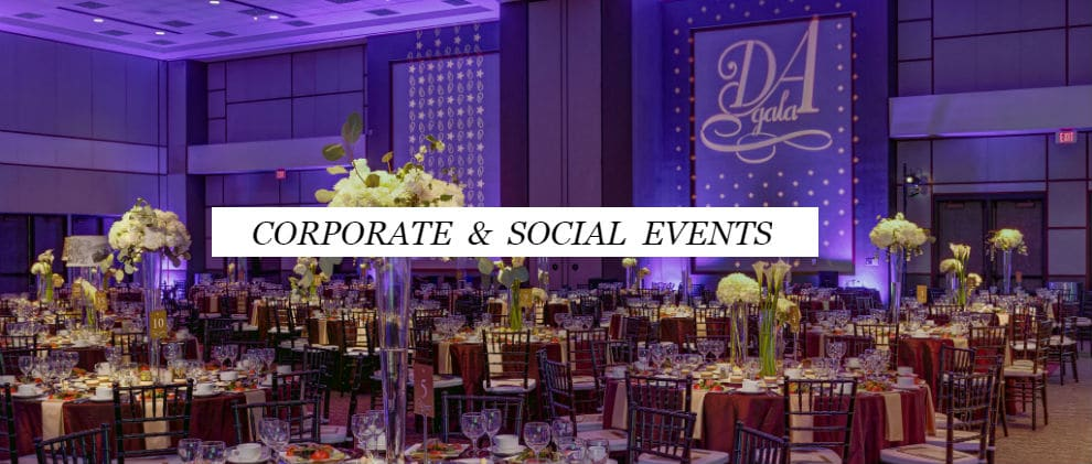 Corporate and Social Events