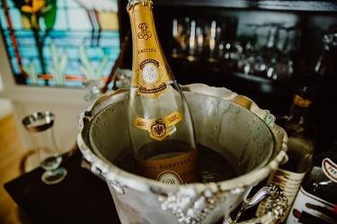 Bar Staffing - Champagne Service