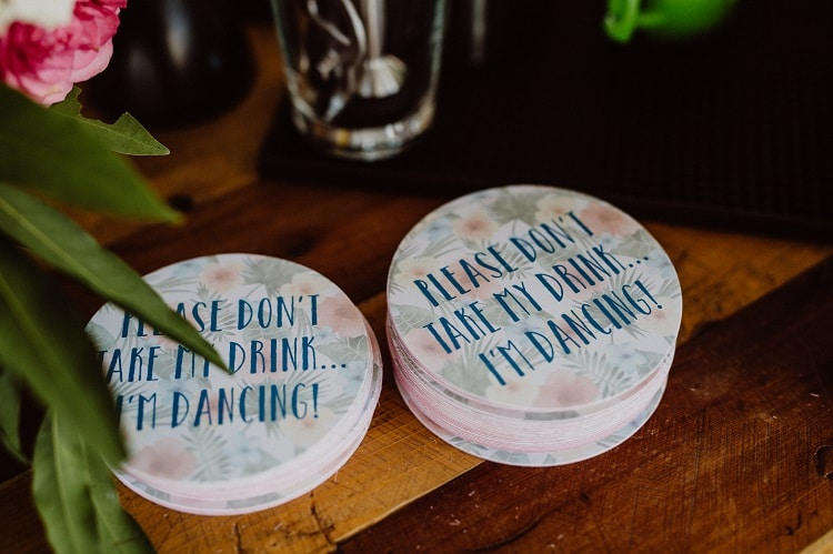 Don't take my drink - Drink Coasters