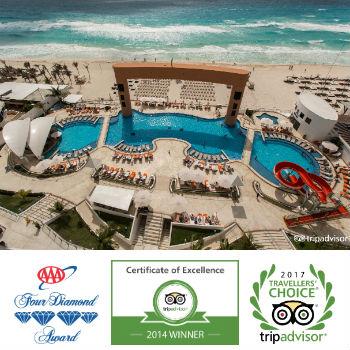 Beach Palace with Awards