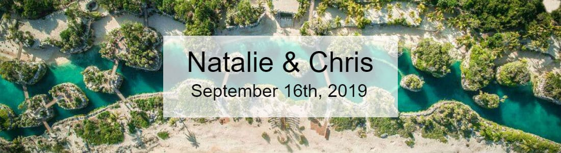Natalie and Chris - Hotel Xcaret