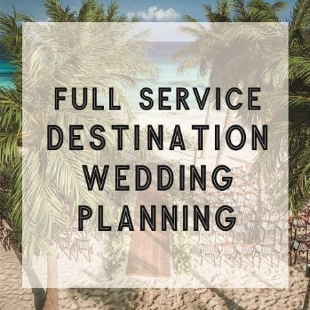 Full Service Destination Wedding Planning Service