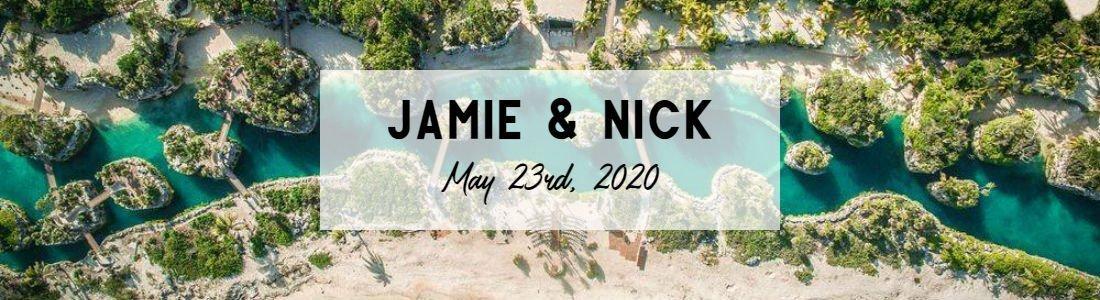 Jamie and Nick Page Header