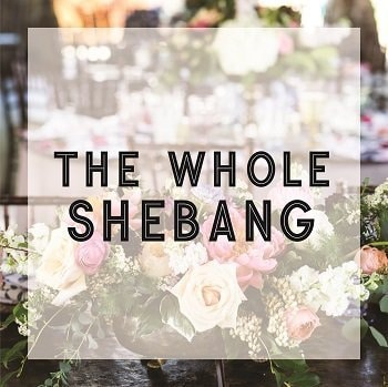 The Whole Shebang Wedding Service