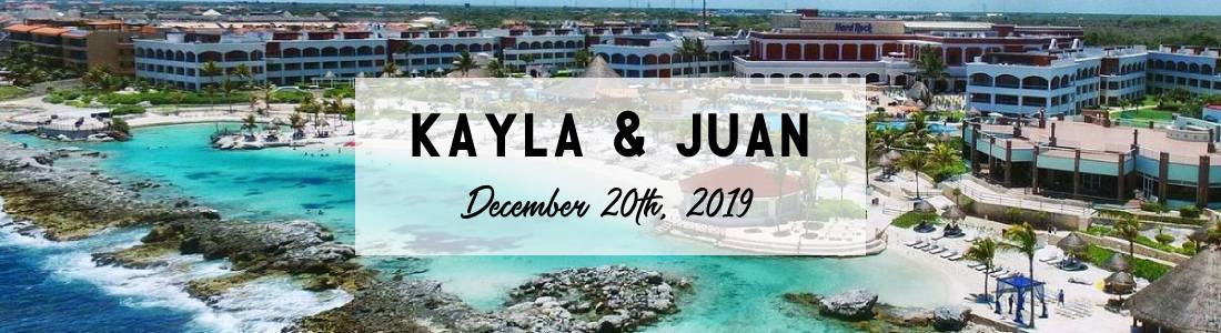 Kayla & Juan's Hard Rock Riviera Maya Destination Wedding