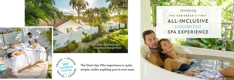 Oasis Spa Villas at Couples Tower Isles