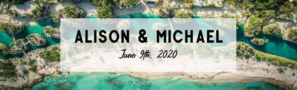 Alison & Michael Page Header