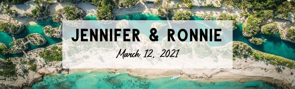 Jennifer and Ronnie Hotel Xcaret Wedding
