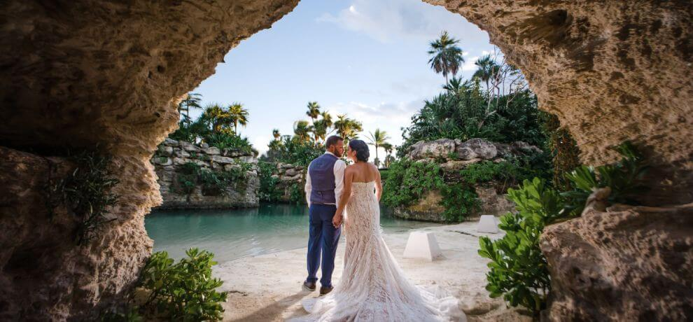Annie and David Hotel Xcaret Wedding