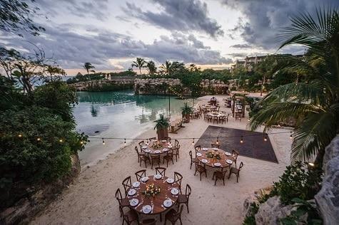 Caleta Fugo Reception Site - Hotel Xcaret