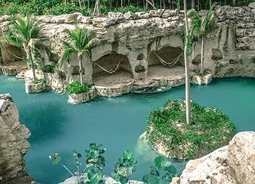 Hotel Xcaret View of River