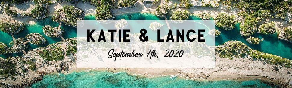 Katie & Lance Hotel Xcaret Header