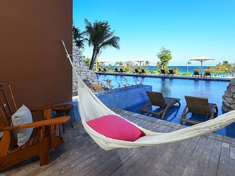 Hotel Xcaret Swim-Up Ocean Front Adults Only with Hammock