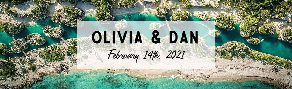 Olivia & Dan Hotel Xcaret Header