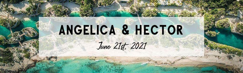 Angelica & Hector Hotel Xcaret Header
