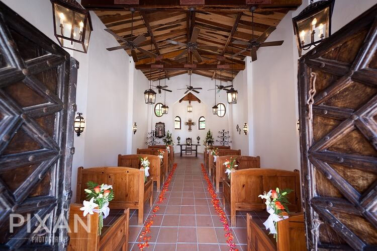 Dreams Tulum Chapel Inside