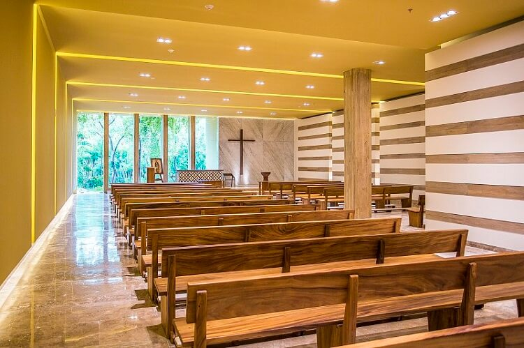 Grand Velas Catholic Chapel
