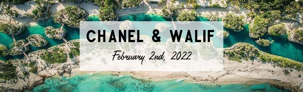 Chanel & Walif Hotel Xcaret Wedding Header