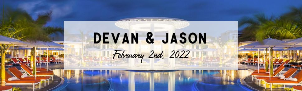 Devan & Jason The Grand Header