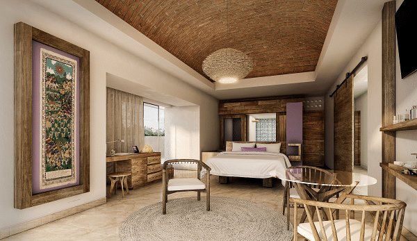 Hotel Xcaret Arte Junior Suite Bedroom