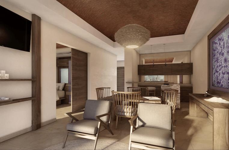 Hotel Xcaret Arte Master Suite Living Room