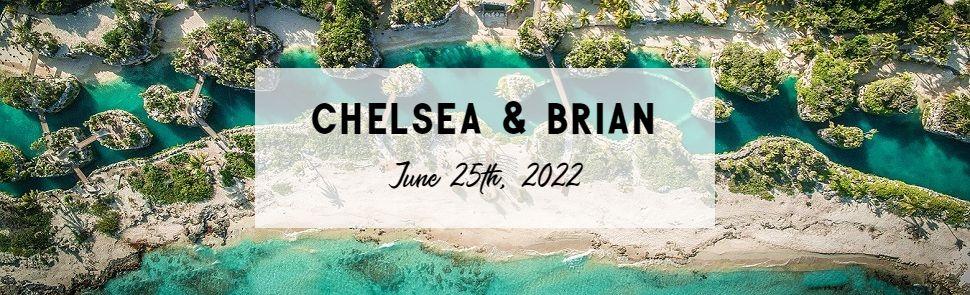 Chelsea & Brian Hotel Xcaret Header