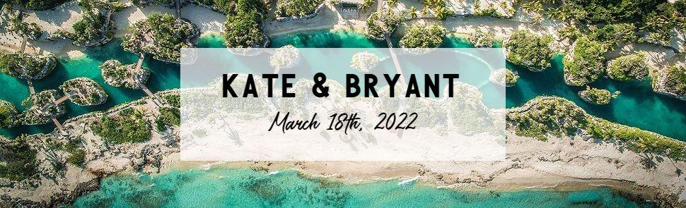 Kate & Bryant Hotel Xcaret Header