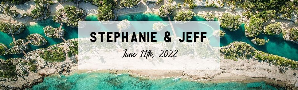 Stephanie & Jeff Hotel Xcaret Header